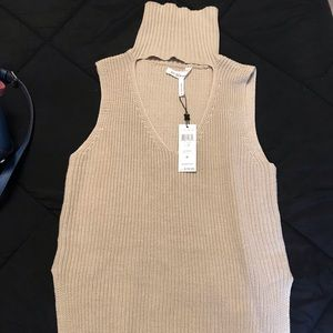 BCBGeneration Sweaters - BCBG turtle neck tank top with tags.